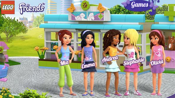 Play online : Lego Friends: Pet Salon Game - kiz10.com